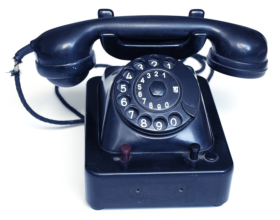 Ever used a rotary phone?