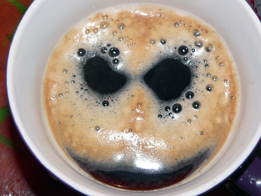 Bad coffee stinks