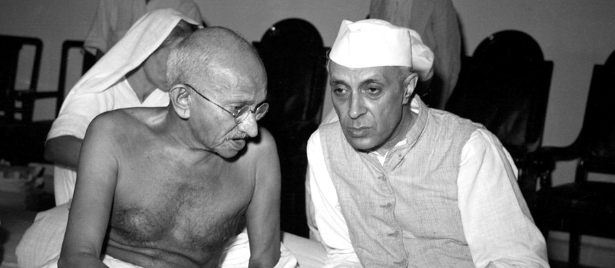 Did Gandhi worry about the short term?